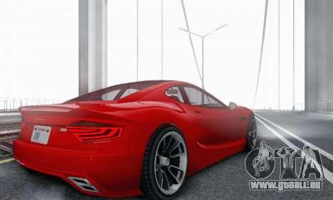 Hijak Khamelion V1.0 pour GTA San Andreas vue arrière