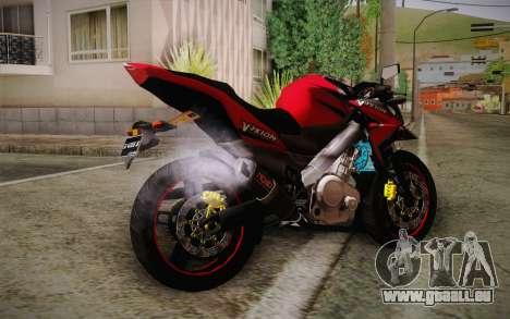Yamaha V-Ixion 2014 pour GTA San Andreas laissé vue