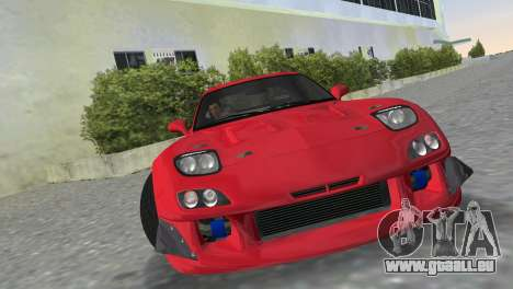 Mazda RX7 FD3S RE Amamiya Road Version für GTA Vice City zurück linke Ansicht