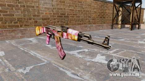 Die AK-47 Punkte für GTA 4