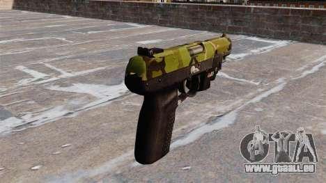 Pistolet FN Cinq à sept LAM Bois pour GTA 4 secondes d'écran