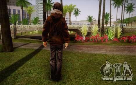 William Carver из The Walking Dead pour GTA San Andreas deuxième écran