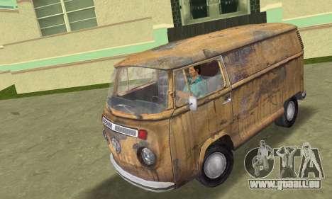 Volkswagen T2 Super Rust pour GTA Vice City
