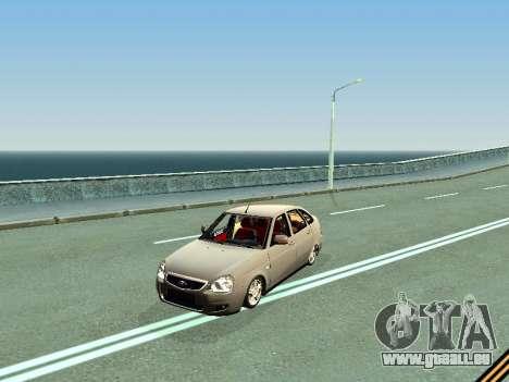 VAZ 2172 pour GTA San Andreas laissé vue