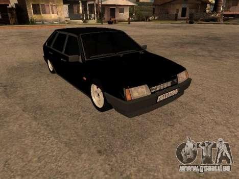 VAZ 2109 Bandit V 1.0 pour GTA San Andreas sur la vue arrière gauche