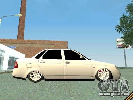 Lada 2170 Priora für GTA San Andreas Seitenansicht