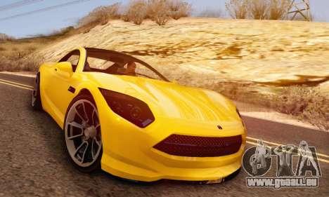 Hijak Khamelion V1.0 pour GTA San Andreas vue de dessus