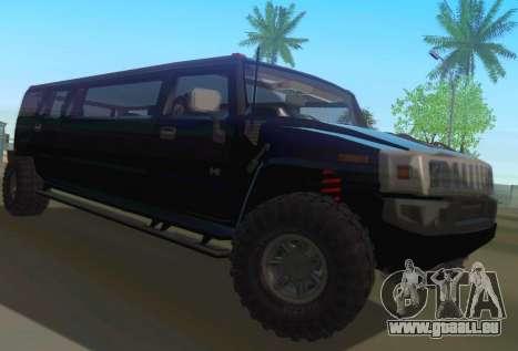 Hummer H2 Limousine pour GTA San Andreas