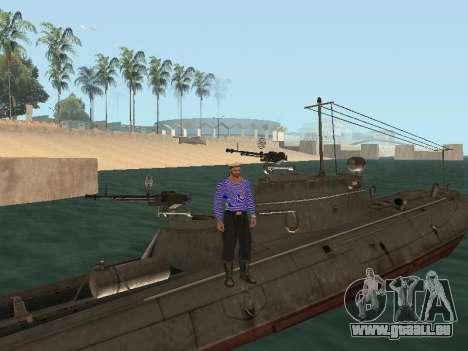 Le torpilleur type G-5 pour GTA San Andreas moteur