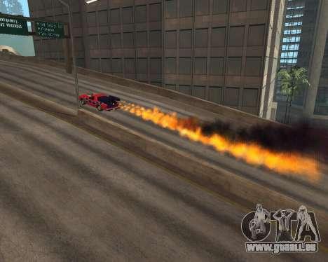 Rocket Picador GT pour GTA San Andreas vue de droite