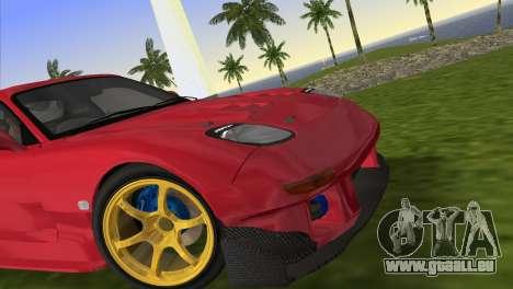 Mazda RX7 FD3S RE Amamiya Road Version für GTA Vice City zurück linke Ansicht