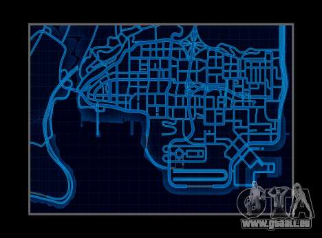 Style de carte de need For Speed World pour GTA San Andreas
