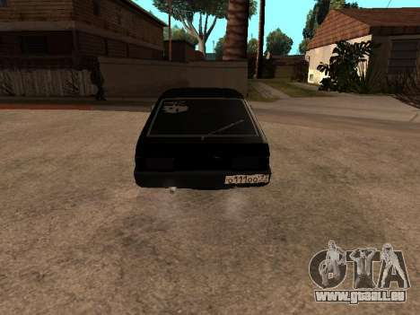 VAZ 2109 Bandit V 1.0 pour GTA San Andreas laissé vue