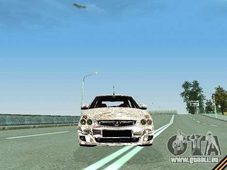VAZ 2172 für GTA San Andreas Innenansicht