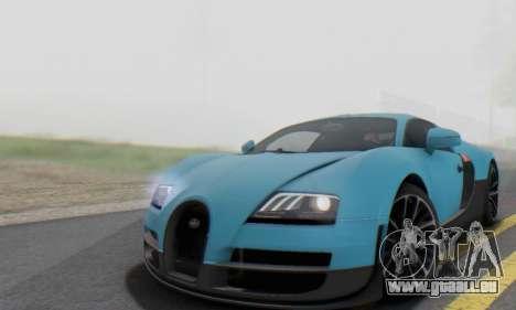 Bugatti Veyron Super Sport 2011 pour GTA San Andreas vue de côté