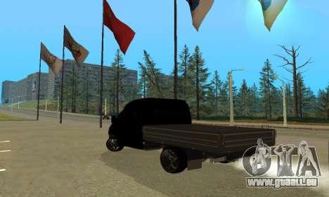 GAZ 3302 V8 Diables pour GTA San Andreas vue de droite