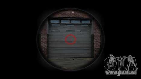 Maschine Steyr AUG A3 Optik Hex für GTA 4 dritte Screenshot