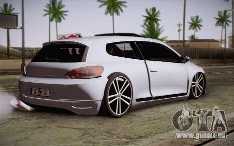 Volkswagen Scirocco für GTA San Andreas linke Ansicht