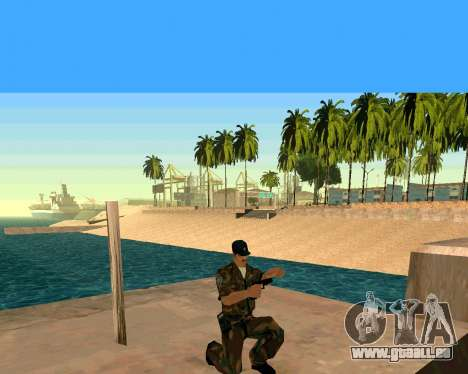Glock из Cinématique pour GTA San Andreas quatrième écran