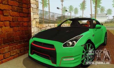Nissan GTR Streets Edition für GTA San Andreas