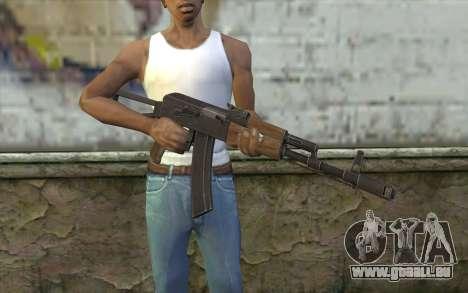 AK74 Rifle pour GTA San Andreas troisième écran