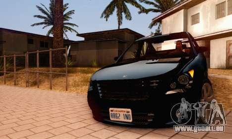 Karin Asterope V1.0 pour GTA San Andreas vue de côté