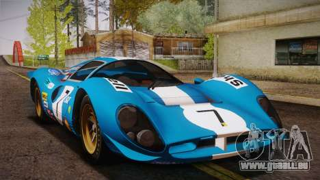 Ferrari 330 P4 1967 IVF für GTA San Andreas Motor