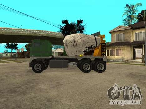 Zement-carrier von GTA 4 für GTA San Andreas linke Ansicht