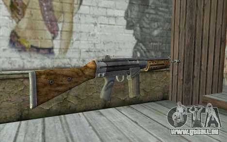 R91 Assault Rifle pour GTA San Andreas deuxième écran