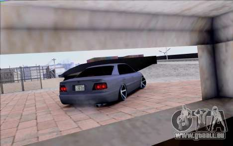 Toyota Chaser Tourer V pour GTA San Andreas vue de dessus