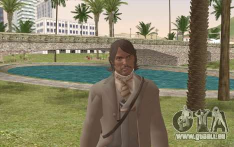 John Marston Gentleman Attire pour GTA San Andreas troisième écran