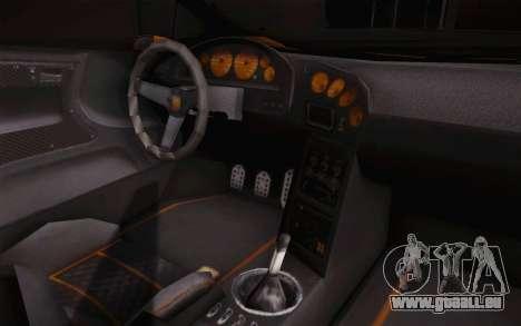 Zentorno из GTA 5 pour GTA San Andreas vue arrière