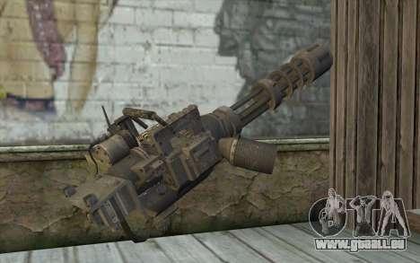 Nouveau Minigun pour GTA San Andreas deuxième écran