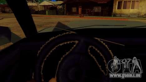 Drehen Sie das Rad für standard-Autos für GTA San Andreas dritten Screenshot