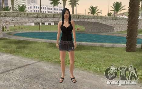 Casual Girl pour GTA San Andreas