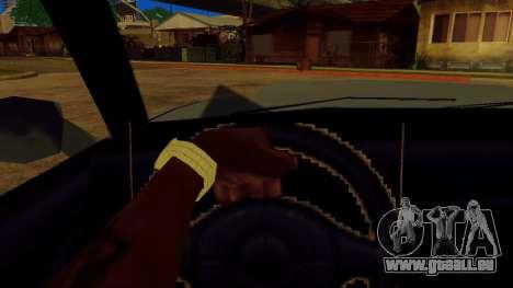 La rotation de la roue pour les voitures standar pour GTA San Andreas quatrième écran