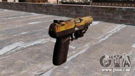 Pistole FN Five seveN LAM Fallen für GTA 4 Sekunden Bildschirm