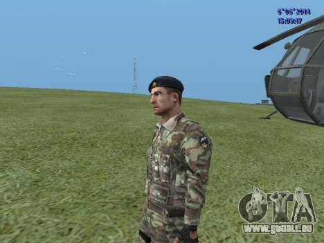 USSR Special Forces für GTA San Andreas her Screenshot