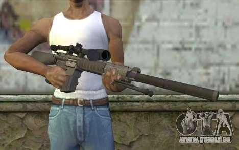 SC25 Sniper Rifle für GTA San Andreas dritten Screenshot