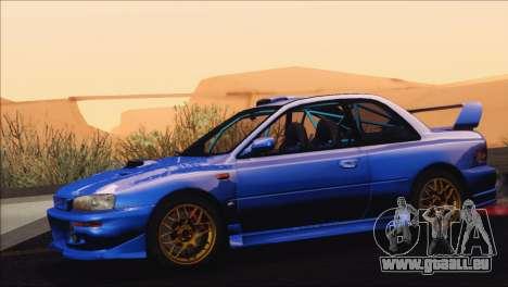 Subaru Impreza 22B STi 1998 für GTA San Andreas rechten Ansicht