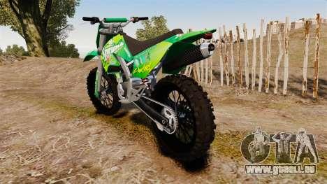 GTA V Maibatsu Sanchez wheels v1 für GTA 4 hinten links Ansicht
