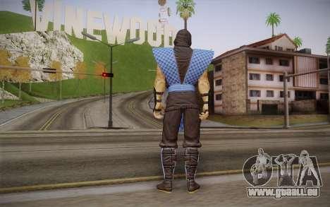 Classic Sub Zero из MK9 DLC für GTA San Andreas zweiten Screenshot