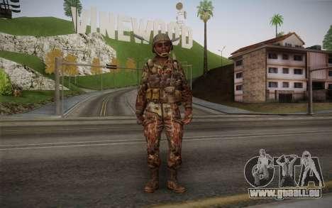 U.S. Soldier v1 pour GTA San Andreas