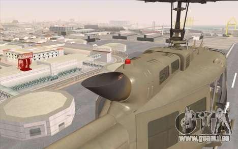 UH-1 Huey pour GTA San Andreas vue de droite