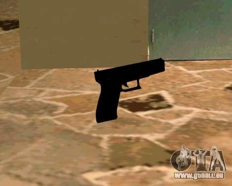 Glock из Cinématique pour GTA San Andreas