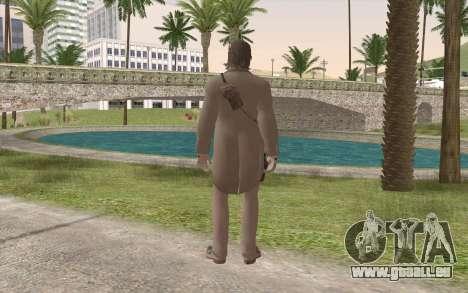 John Marston Gentleman Attire für GTA San Andreas zweiten Screenshot
