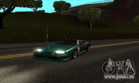 ENB mod sehr schwachen PC für GTA San Andreas zweiten Screenshot