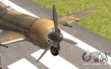 IAR 80 - Romania No 91 für GTA San Andreas Rückansicht