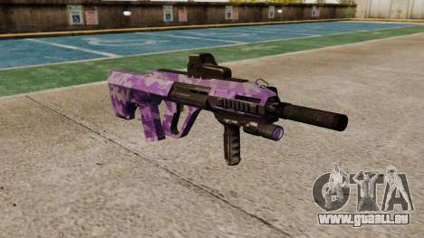 Автомат Steyr AUG A3 Optik Lila Camo für GTA 4