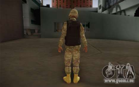Sedena pour GTA San Andreas deuxième écran